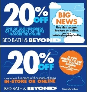 Bed Bath and Beyond Promo Codes & Coupons