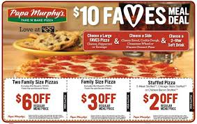 picture relating to Papa Murphy's $3 Off Printable Coupon named Papa Murphys Pizza Bargains - 25% Off $20