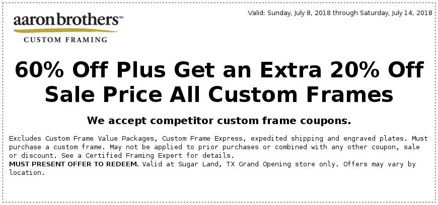 Awesome Michaels Custom Framing Coupon Inspiration - Picture Frame ...