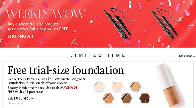 a150a5cf9 Sephora Coupons valid January 2019 - 15% OFF Promo Code