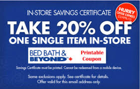 online coupon for bed bath and beyond canada