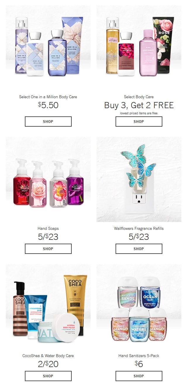 4783a28a49 Bath and Body Works Deals - Wallflowers Fragrance Refills for $3.50