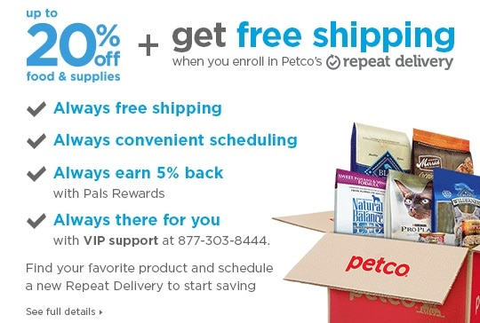 Petco Sales and Coupons - $30 OFF $100 and 20% OFF Promo Code