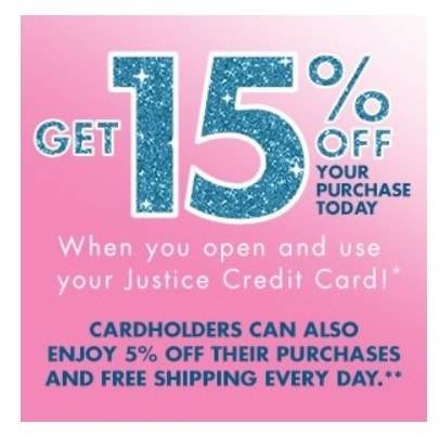Justice Sales - 40% OFF and 15% OFF Coupon