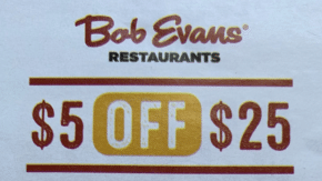photograph about Bob Evans Coupons Printable named Bob Evans Coupon codes Promo Codes