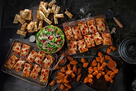graphic relating to Jets Pizza Coupons Printable named Jets Pizza Bargains - 20% OFF Coupon and $8.99 Pizza