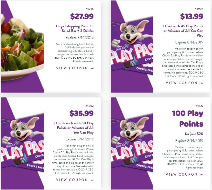 picture relating to Chuck E Cheese Coupon Printable named Chuck E Cheese Coupon codes - 100 Enjoy Information for simply $20. Legitimate
