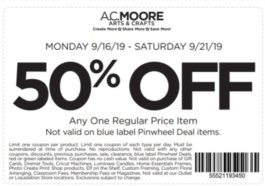 photograph about Ac Moore Printable Coupon known as AC Moore Coupon codes